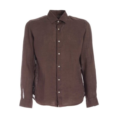 Altea Bond shirt in brown The Top Selling UK670O1E