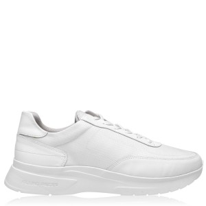 FILLING PIECES Moda Jet Roll Trainers Mens White 1855 QNFAW4542