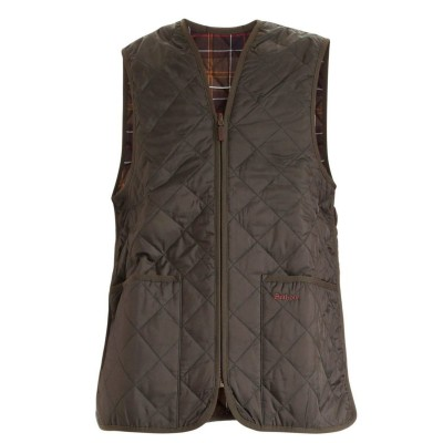 Barbour Men Green waistcoat featuring front pockets Outdoors Trends 2021 FCP4558Y