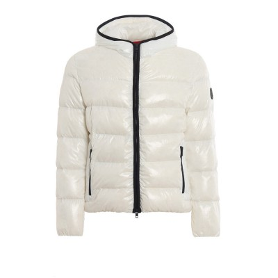 Fay Men White quilted puffer jacket Cheap 4XVX751H