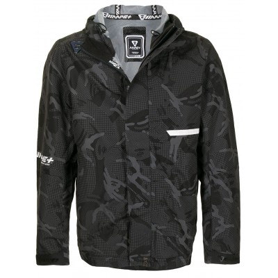 AAPE BY *A BATHING APE® Mens Kapuzenparka mit Camouflage-Print fashion guide EENY758