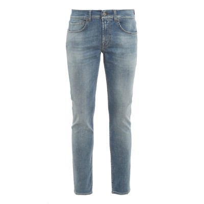 7 For All Mankind Men Slimmy Tapered Kind to the Planet jeans  U1L3Q5MY