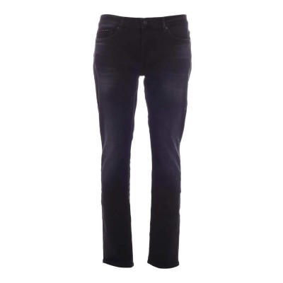 7 For All Mankind Men Special Edition Ronnie jeans in black  BUS873P7