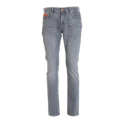 7 For All Mankind Men's Ronnie jeans in grey  419SNE6J