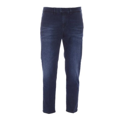 Dondup Men Chino jeans in blue Clearance AP8XN3SU