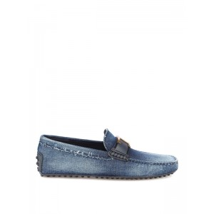 Tod'S Men's Gommino driving denim loafers At Target FNEZZM9P