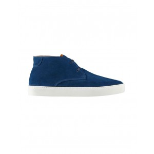Aquila Mens Vader Suede Hi-Top Sneakers Petrol Blue Selling Well AKPKNIT - Suede Upper/Rubber Sole