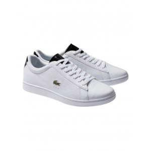 Lacoste Men's Carnaby Shoe White CCAEBBJ - 94% Leather 6% Synthetic