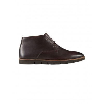 AQ by Aquila Men's Bellard Leather Ankle Boots Chocolate Trending EHSAQNU - Leather Upper/Rubber Sole