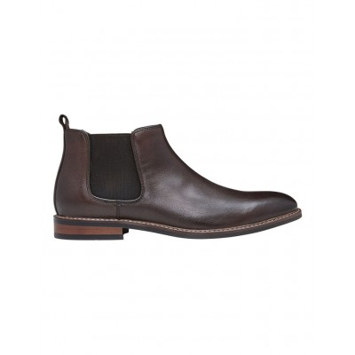 AQ by Aquila Men's Lucca Leather Chelsea Boots Brown JHNJCQO - Leather