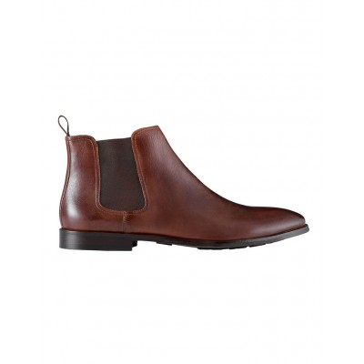 Aquila Men Dayton Leather Chelsea Boots Tan for sale near me PXRIOGW - Leather Upper / Rubber and Synthetic Sole
