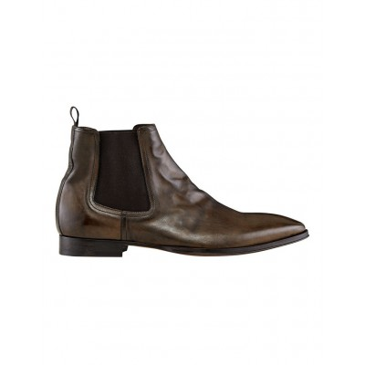 Aquila Men Osbourne Leather Chelsea Boots Military Extra Wide Width the best DGTHWPB - Leather