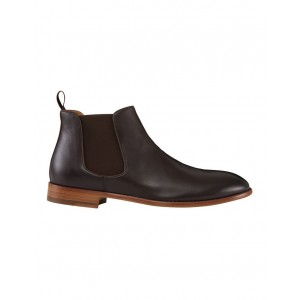 Aquila Men's Bartoli Leather Chelsea Bots Brown lifestyle OWULBJW - Leather Upper / Rubber Sole