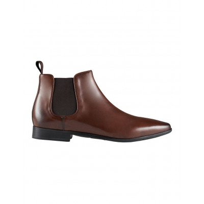 Aquila Men's Beaumont Leather Chelsea Boots Tan Indoor new in VHUVKGJ - Leather Upper/Leather & Rubber Sole