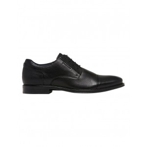 Julius Marlow Men's Rome New O2 Toe Cap Lace Up Shoe Black outfits YJUWNMM -