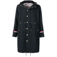 Thom Browne Oversized-Parka mit Schottenkaro Packable for Travel Cheap BGXL383