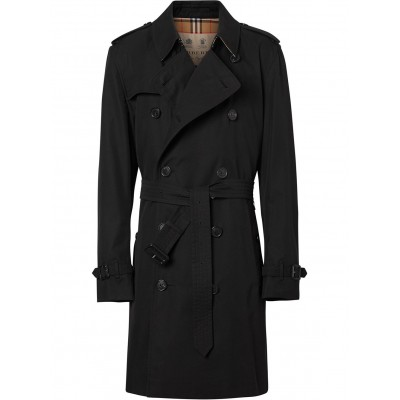 Burberry Men's The Kensington Heritage Trenchcoat Fitted XLGF539